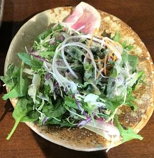 Binchoyaki Izakaya Salad