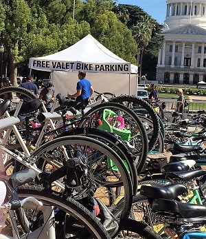 Farm-To-Fork Valet Bike Parking