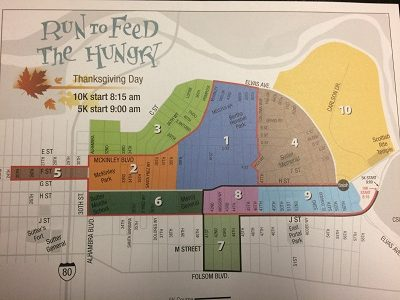 Photo of Run to Feed the Hungry Map