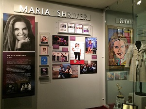 California Hall of Fame Maria Shriver Exhibit
