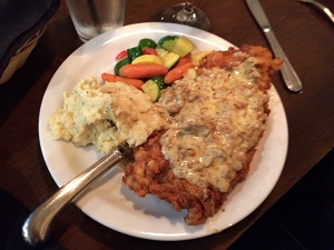 Picture of Chicken Fried Steak at Evan's Kitchen