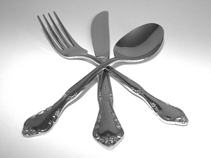 Picture of utensils - Dine downtown Restaurant Week