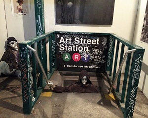 Picture of ArtStreet Exhibit