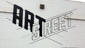 Picture of ArtStreet Sign