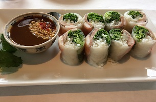 Picture of Lemon Grass Salad Rolls