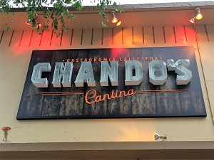 Picture of Chando's Cantina Signage