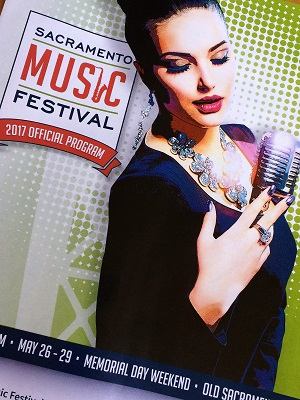 Picture of Sacramento Music Festival Program Cover