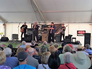 Picture of Tom Rigney & Flambeau band at the Sacramento Music Festival