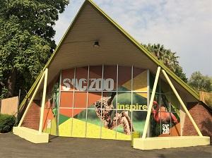 Picture of Sacramento Zoo Entrance