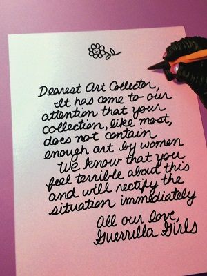 Picture of Guerrilla Girls Love Letter