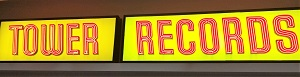 Picture of Tower Records - neon sign