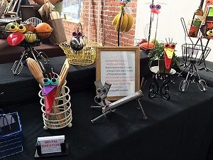 Picture of Beatnik Studios Handmade Holidays booth