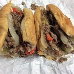 Picture of Suzie Burger cheesesteak sandwich