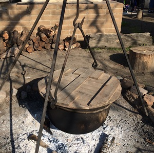 Picture of Sutter's fort Cooking Pit