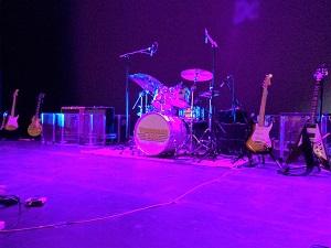 Photo of Wishbone Ash stage