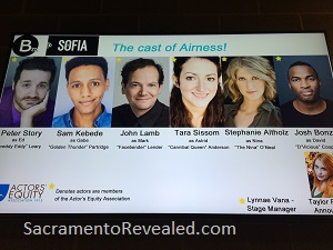 Photo of cast of Airness