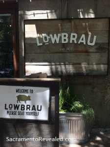 Photo of LowBrau Bierhalle Signage