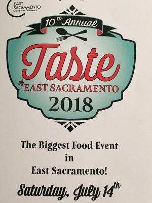 Photo of 10th Annual Taste of Sacramento Program