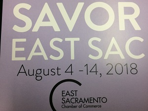 Photo of Savor East Sac 2018 Flyer