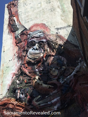 Photo of Wide Open Walls 2018 Bordalo Mural