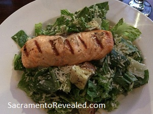 Photo of Ink Eats & Drinks Salmon Caesar Salad