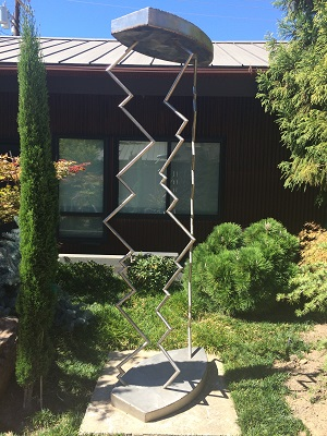 Photo of Sculpture by Gerald (Jerry) Walburg