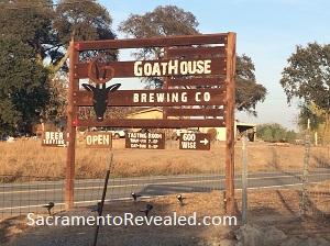 Photo of GoatHouse Brewing Company Signage