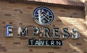 Photo of Empress Tavern Signage