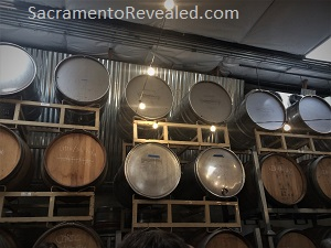Photo of Revolution Winery & Kitchen barrels