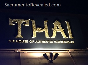 Photo of T.H.A.I. Exterior Signage
