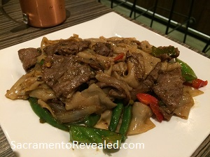Photo of T.H.A.I. Pad Kee Mao with Beef
