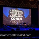 Photo of Leonard Cohen Crest Theatre Stage