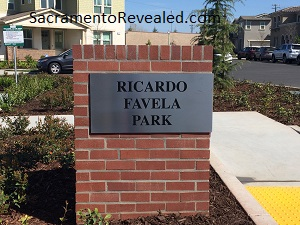 Photo of Ricardo Favela Park Signage