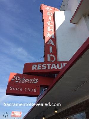 Photo of Richmaid Restaurant Exterior Signage