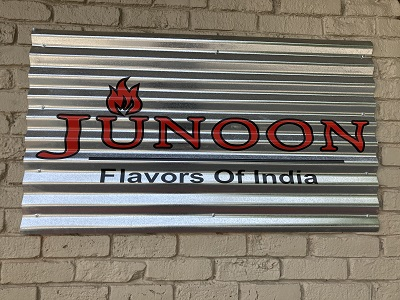 Photo of Junoon Flavors of India signage