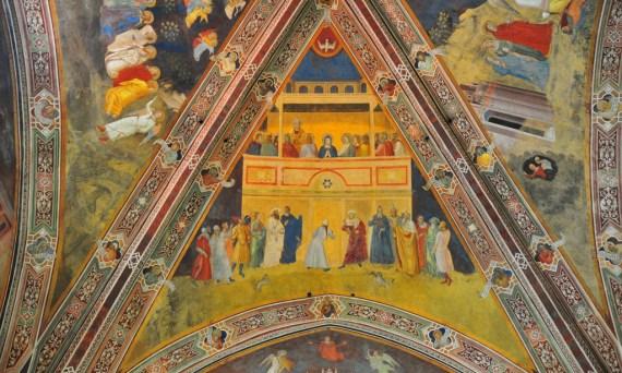 Pentecost resources for everyone! And a Fresco by Andrea di Bonaiuto (sometimes called Andrea da Firenze), photograph, Ben Miller   Sacraparental.com