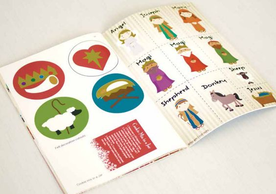 Christmas@Home family resource booklet - heaps of brilliant ideas | Full review at Sacraparental.com