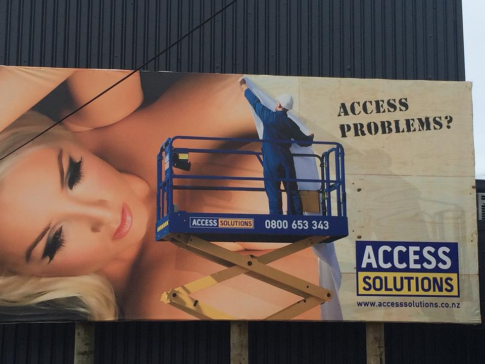 Access Solutions billboard