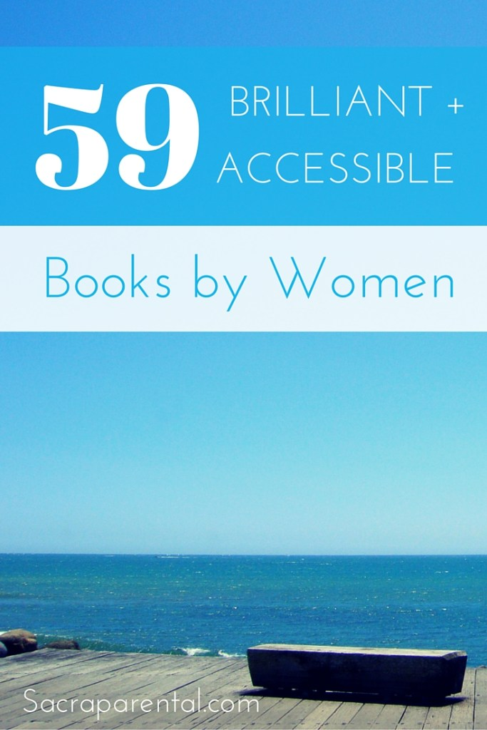 I love a good book list! Here's a goodie: 59 brilliant books by women that aren't 'difficult' :)