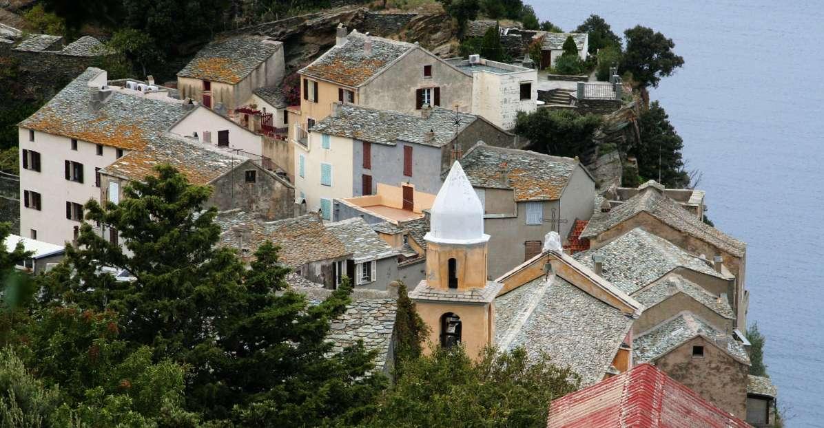 Sacré Cap Corse - Les toits de Nonza