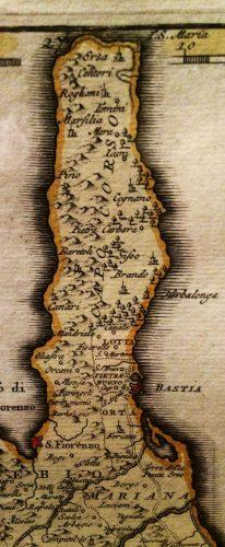 1737-Carte des frères Ottens à Amsterdam