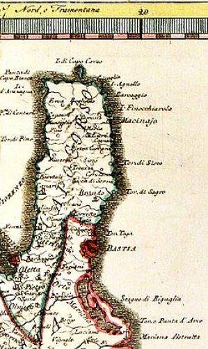 1792-Carte imprimée à Rome