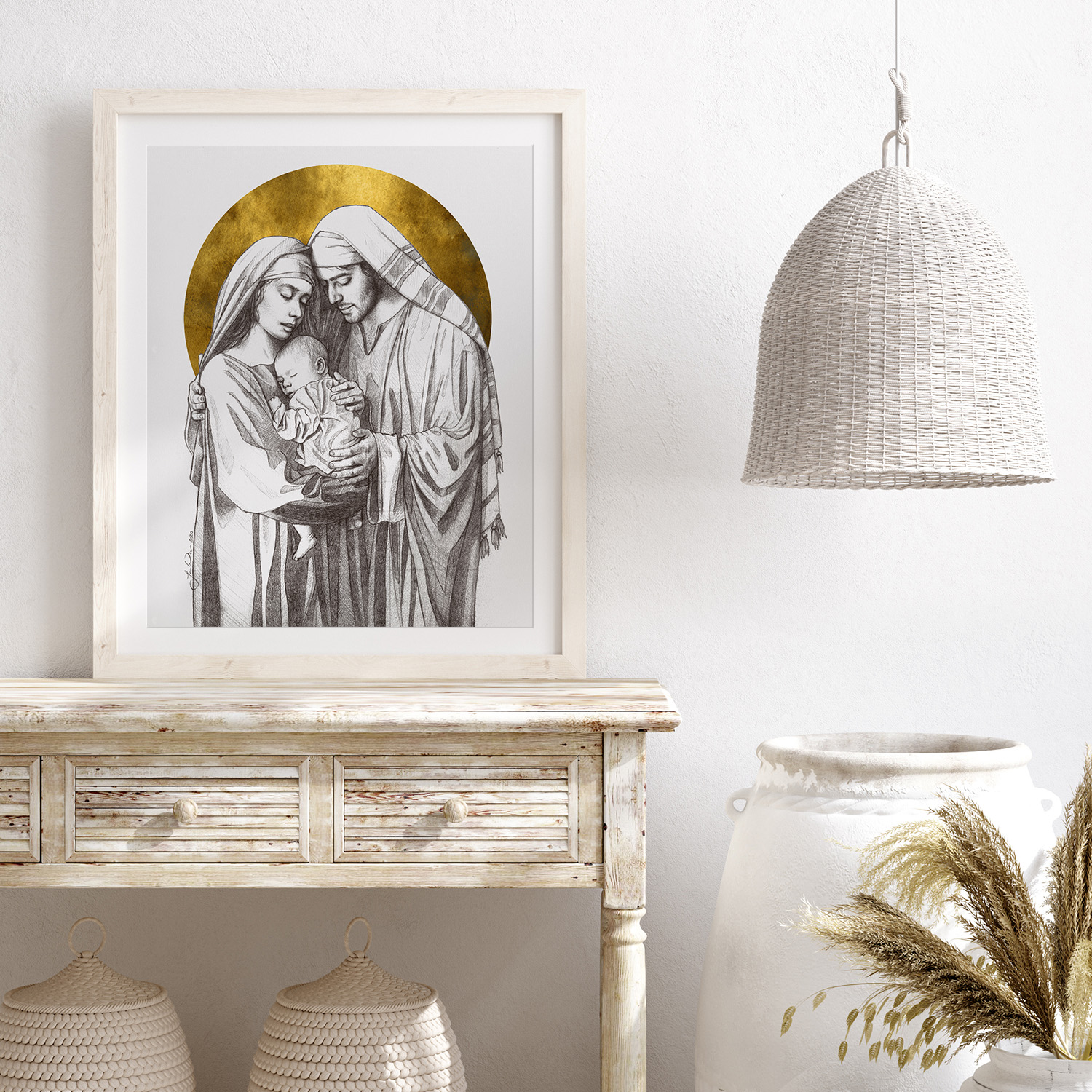 Holy Family Sketch