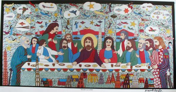 Howard Finster  Sacred Art Pilgrim Collection Artists  Sacred Art Pilgrim