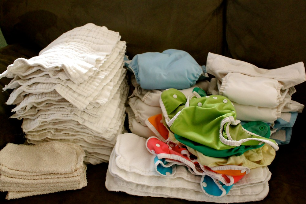 stripping cloth diapers in a front loader