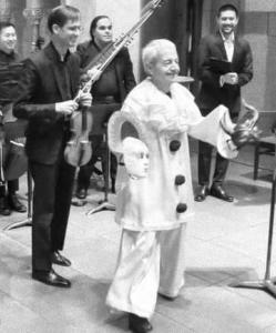 Lopresti on stage