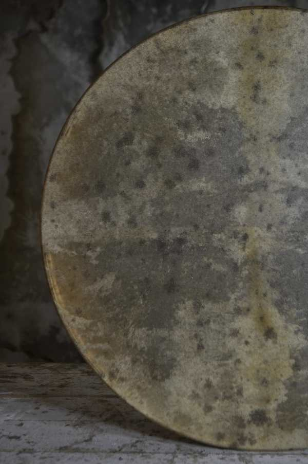 18' goat hide shamanic drum