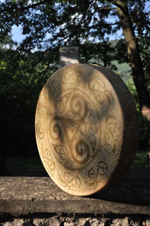 viking shaman drum