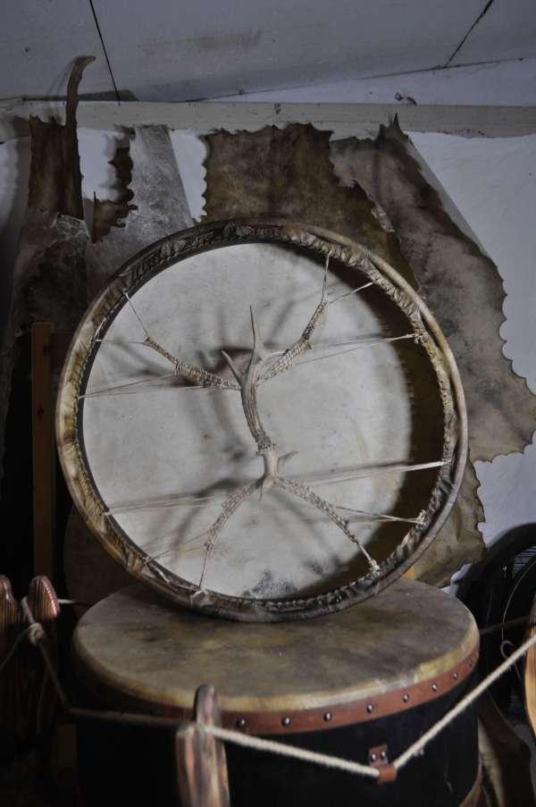 large medicine drum