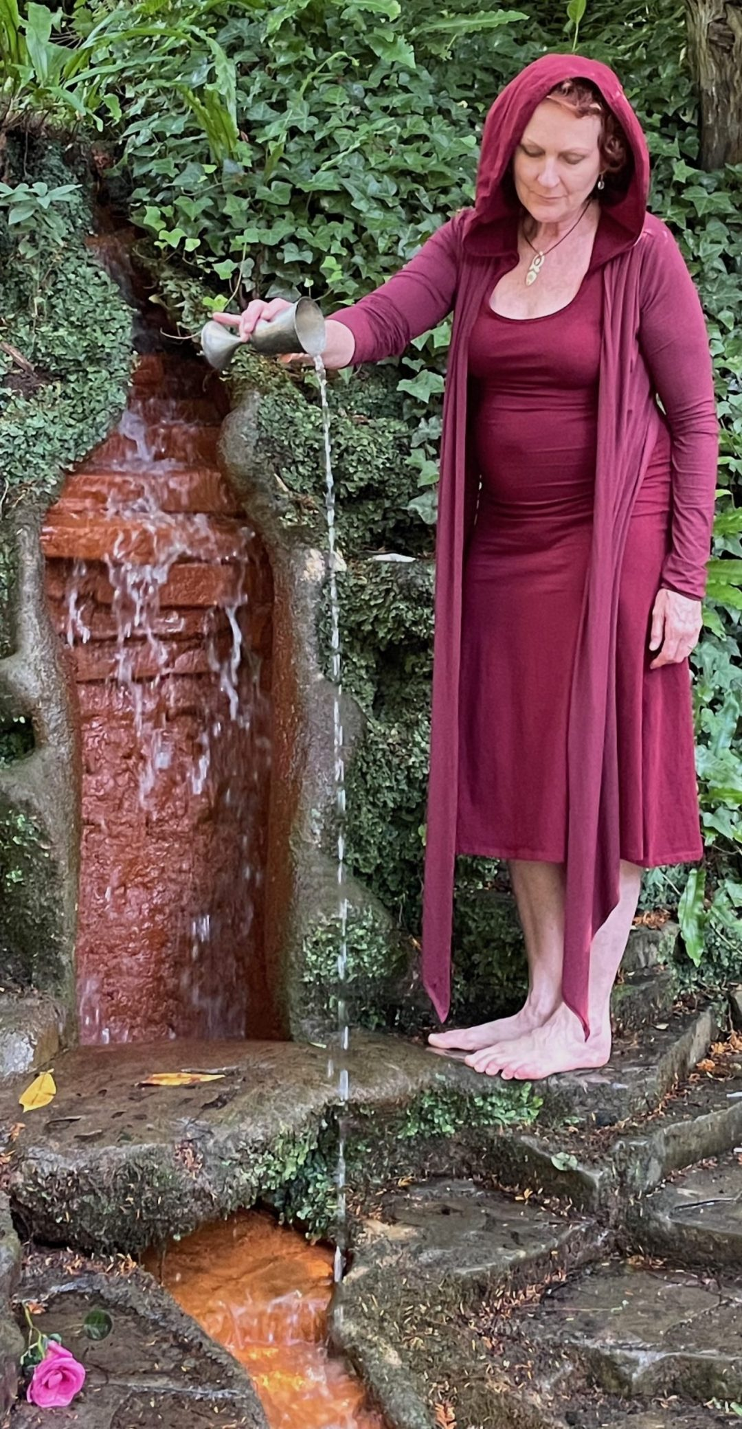 Red Spring Waterfall Chalice